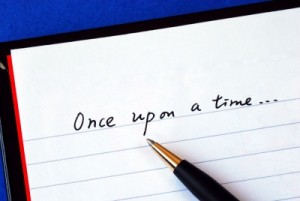 Beginning your book - Once Upon a Time