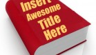 writing your book title